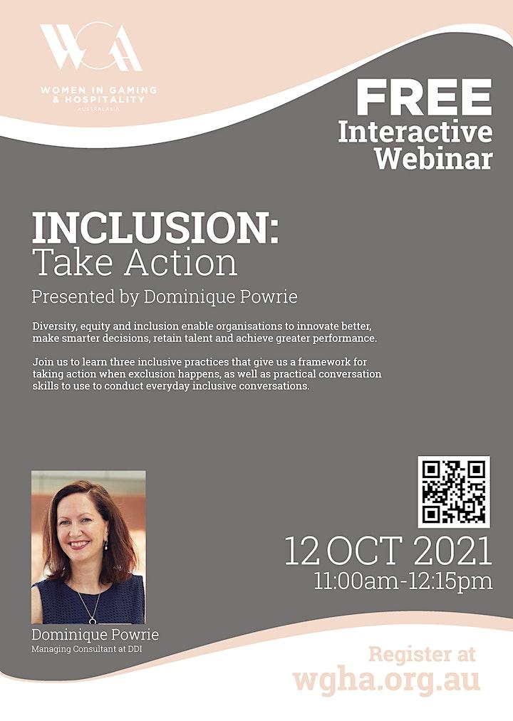 Webinar: Inclusion - Take Action image