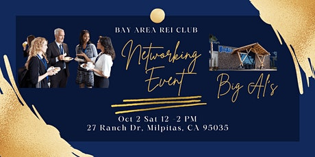 Bay Area REI Club Networking Meetup tickets