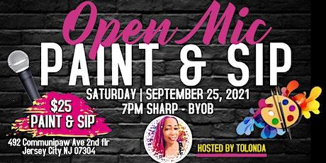 Open Mic Paint & Sip at The Loft Art Lounge tickets
