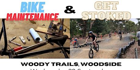Bicycle Maintenance workshop & Get Stoked  BMX jam tickets