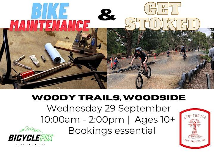 Bicycle Maintenance workshop & Get Stoked  BMX jam image