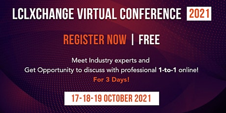 LCLXchange Inc – Virtual Conference 2021 tickets