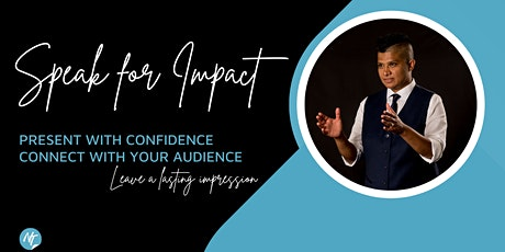 Speak for Impact - public speaking and presenting tickets