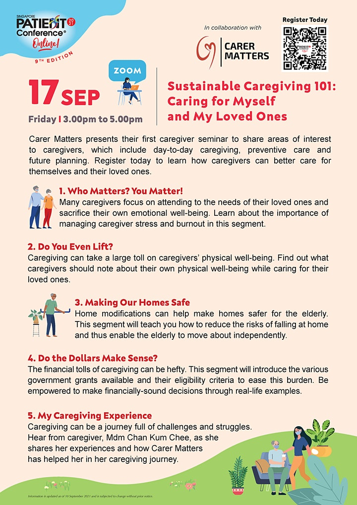 Sustainable Caregiving 101: Caring for Myself and My Loved Ones image