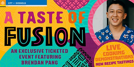 A Taste of Fusion - Live cooking demonstration with Brendan Pang tickets