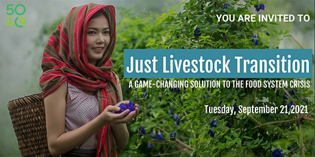 Just Livestock Transition: a game-changing solution to food system crisis tickets