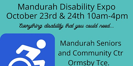 Mandurah Disability Expo tickets