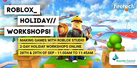 Roblox 2 Day Holiday Workshop tickets