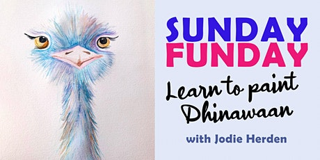 Sunday Funday. Learn to Paint Dhinawaan with Jodie Herden. tickets