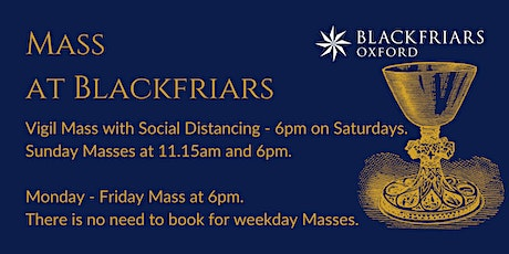 Vigil Mass [With Social Distancing] - 2 October tickets