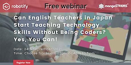 Can English Teachers in Japan Start Teaching Technology Skills? tickets