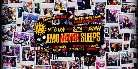 Emo Never Sleeps // November 6 - Day Party tickets