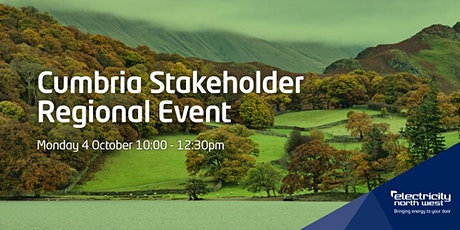 Electricity North West's Cumbria Regional Stakeholder Event tickets