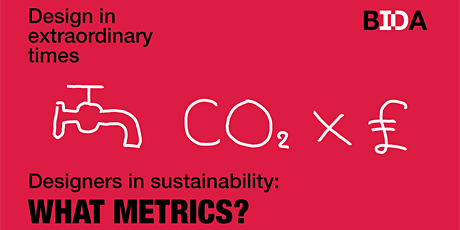 Designers in Sustainability: What metrics? tickets
