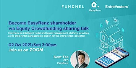 Become EasyRenz shareholder via Equity Crowdfunding sharing talk biglietti