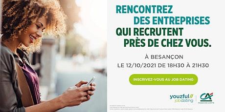 Job Dating à Besançon : décrochez un emploi ! billets