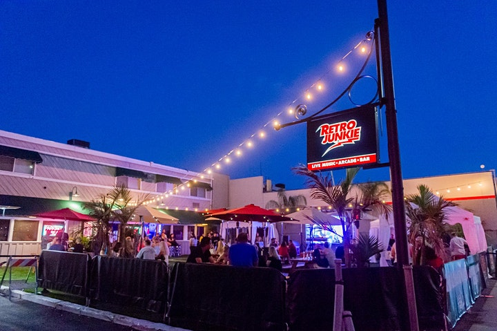 Football Sunday: Raiders vs Dolphins Watch Party @ Retro Junkie Beer Garden image