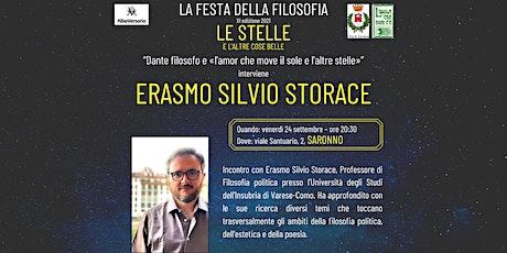Festa della Filosofia - Saronno: Erasmo Silvio Storace biglietti