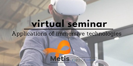 Industry Applications of Immersive Solutions tickets