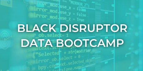 Black Disruptor Data Analytics and Project Management Empowherment Day tickets