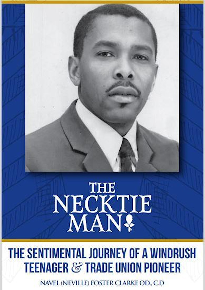 The Necktie Man Book Launch - An autobiography of a Windrush Teenager image