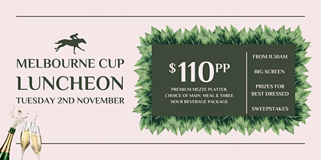 Melbourne Cup Day At Mecca Bah Hope Island tickets