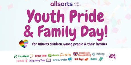 Allsorts Youth Pride & Family Day tickets