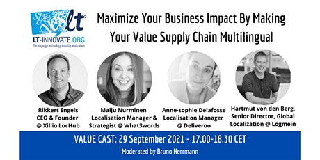 Maximize Business Impact By Making Your Value Supply Chain Multilingual ingressos