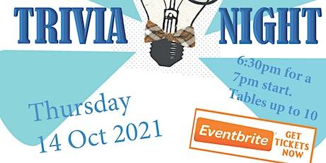 United Nations Association Australia - NT Division (UNAA-NT) Trivia Night tickets