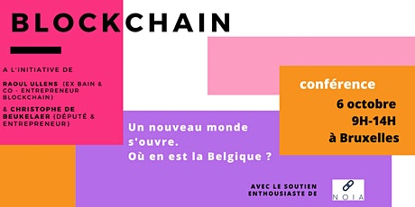 Brussels Blockchain Conference tickets