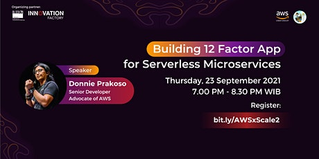 Building 12 Factor App For Serverless Microservices tickets