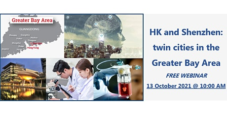 HK and Shenzhen: twin cities in the Greater Bay Area tickets