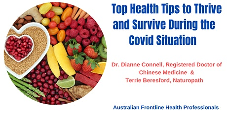 Top Health Tips to Thrive and Survive During the Covid  Situation tickets