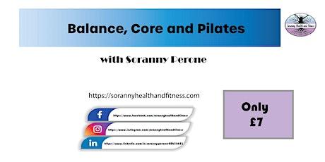 Balance, Core and Pilates tickets