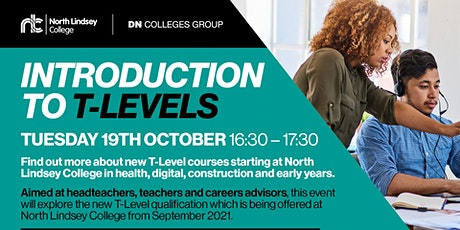 T Levels - An Introduction to T Levels (School Staff) tickets