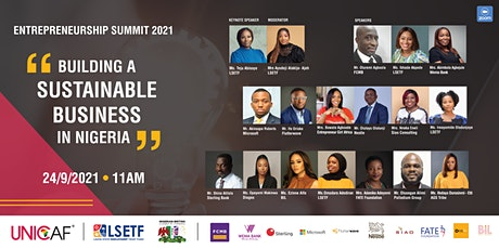 Entrepreneurship Summit 2021 tickets