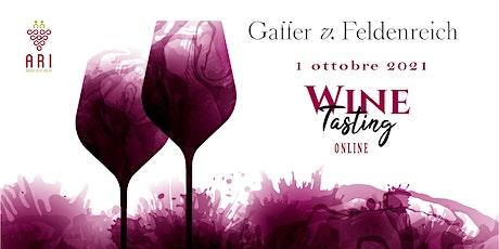 Wine Tasting Gaffer von Feldenreich, nuova cantina dell'Alto Adige! biglietti