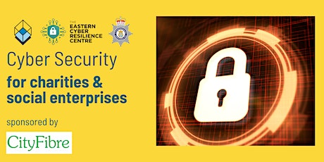 Cyber Security for charities and community interest companies tickets