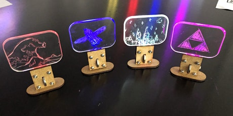 FabLabKids: scratchie, wir basteln Dein buntes Leucht-Display (7 - 10 J) Tickets