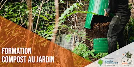 FORMATION : Compost au jardin tickets