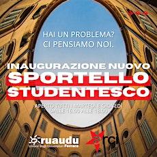 Sportello Studentesco biglietti