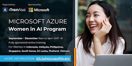 Microsoft Azure Women in AI Program tickets
