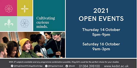 Open Events 2021 tickets