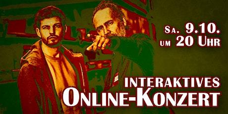 """""""Das Ziel ist der Weg"""" - interaktives Online-Konzert mit Eddi Hüneke & Tobi Tickets"""