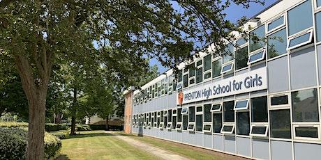 Prenton High School Open Evening 2021: 5.30-6.30pm tickets