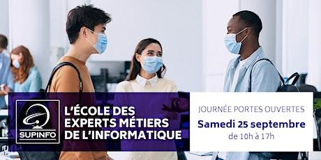 JPO SUPINFO Paris 25 septembre billets