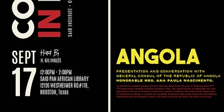 COUNTRY IN FOCUS: SAID INSTITUTE + THE REPUBLIC OF ANGOLA tickets