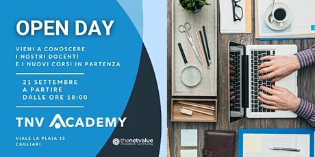 Open Day | Presentazione nuovi corsi TNV Academy biglietti
