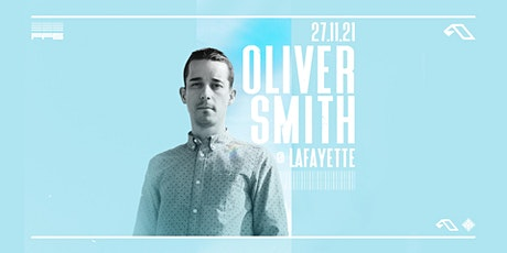 Oliver Smith –London tickets