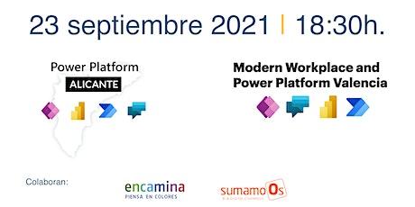 Encuentro Power Platform Valencia + Alicante entradas